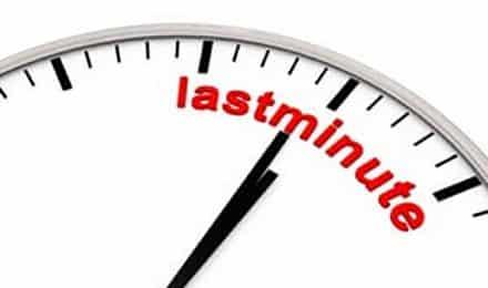 Offre dernière minute